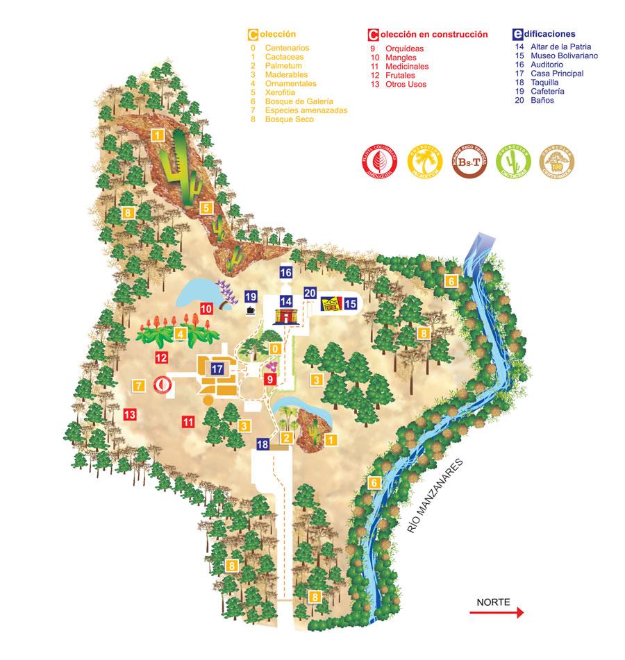 Jard n bot nico quinta de san pedro alejandrino museo for Jardin botanico ucm